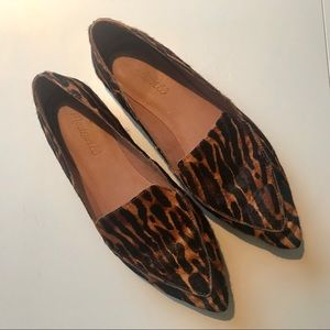 Madewell leopard loafers